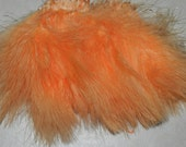 1/4 oz. PEACH Strung Blood Quill Marabou Feathers crafts, earings & jewelry