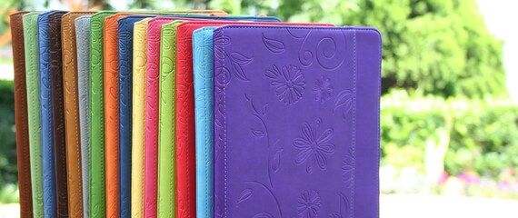 Beautiful embossed faux leather iPad 2 Case by Koda Cases PURPLE
