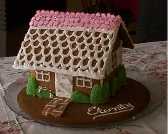 Gingerbread House (gluten free and gum free)