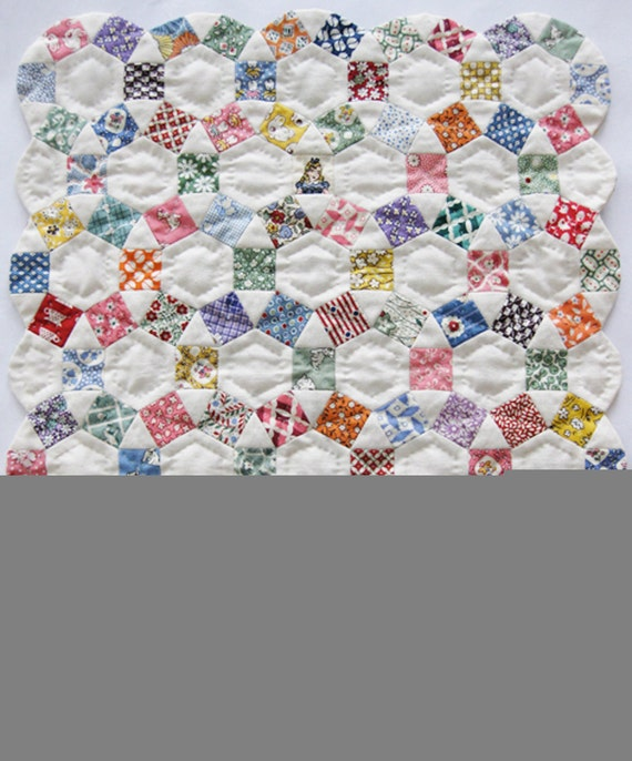 Pattern (English) for mini quilt 'Little Grace'