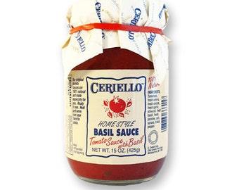 Ceriello Homemade Tomato Basil Sauce, 30oz
