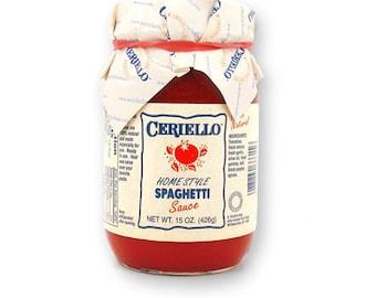 Ceriello Homemade Spaghetti Sauce, 30oz