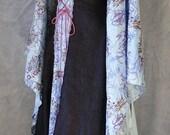 Purple and Blue Renaissance Style Dress