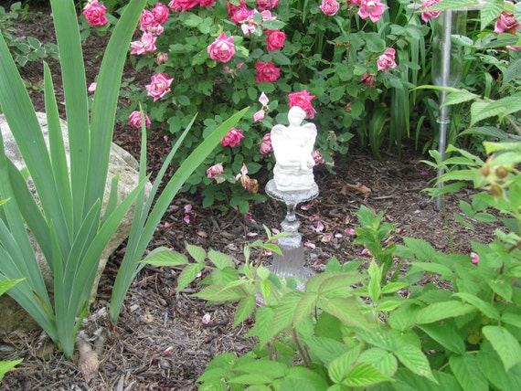 "Garden Art Totem- ""Angelic Angel"""
