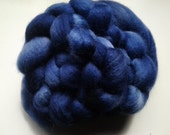 4oz Navy Blue Faced Leicester roving