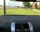 Hula Hoop Rear View Mirror Dangles