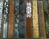 Mark the Spot Wood Bookmarks