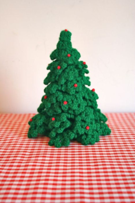 Vintage Crochet Christmas Tree By Littlemstips On Etsy