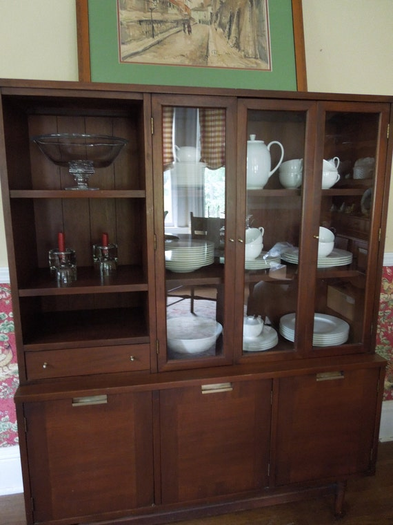 RESERVED FOR LESLIE Mid-Century Modern China Cabinet