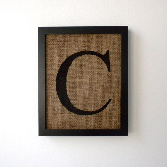 letter c wall decor reserved for mariana letter c on burlap wall decor by 22784 | il 570xN.249624657
