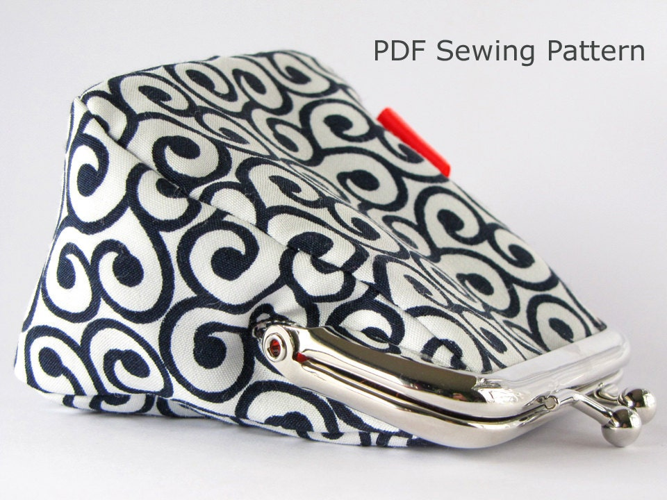 Pdf Sewing Pattern Frame Coin Purse Without Instructions