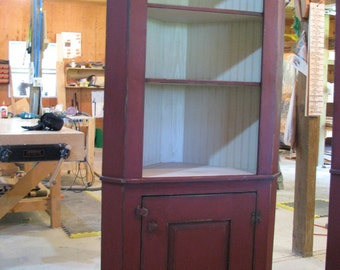 Honeyville Corner Cupboard