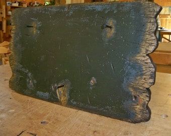 Primitive Board with Nails