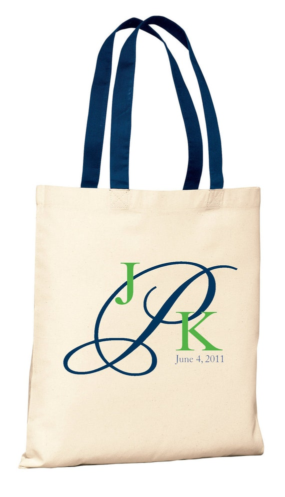Monogrammed Welcome Bags