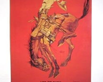 Vintage 1964 Pendleton Round Up Poster