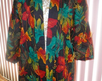 """Art to Wear  """"Autumn Splendor""""  Jacket"""