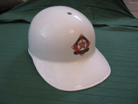 Houston Astros 25th Silver Anniversary Batting Cap Helmet