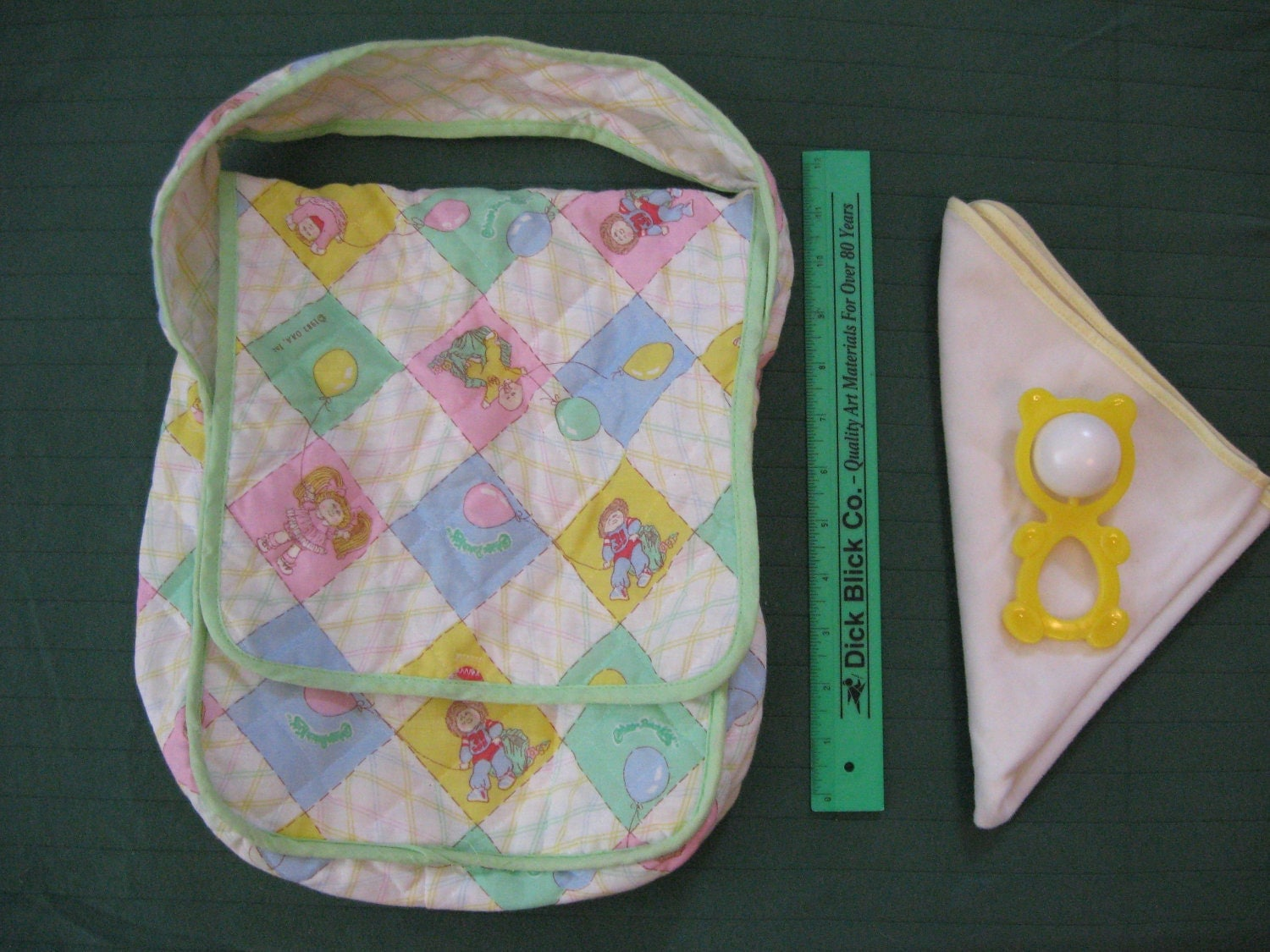 Kids Diaper Bag : Vintage s cabbage patch kids diaper bag with extras