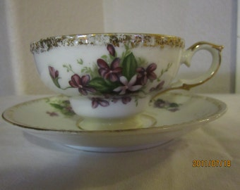 Fine china cup and saucer made by Kelvin