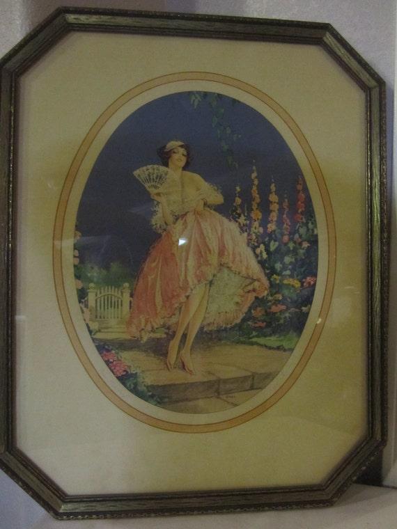 Miss Mischief lithograph by Marcel LeBoulte