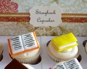 Mini Storybook Cupcake Toppers - 1 Dozen