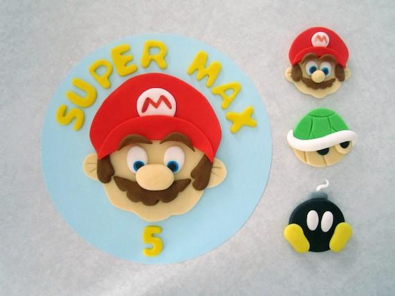 mario cake topper Photo
