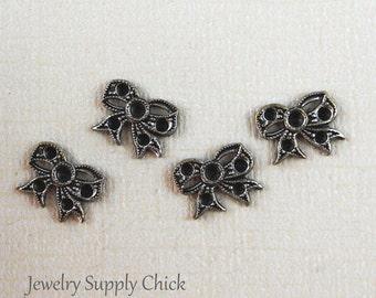 Silver ox bow (x4)