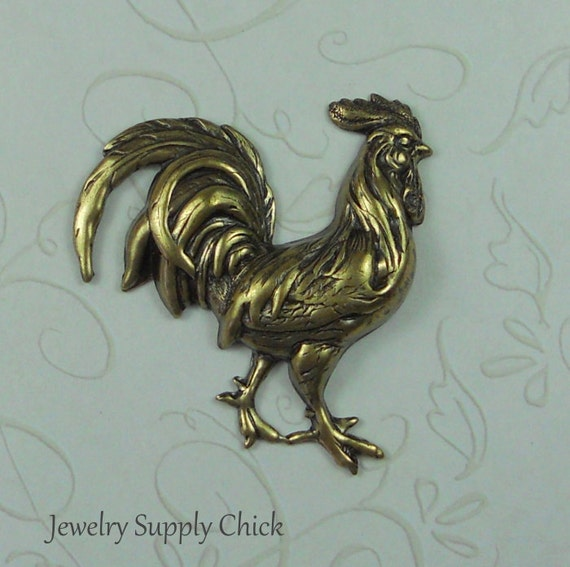 Brass Ox Rooster
