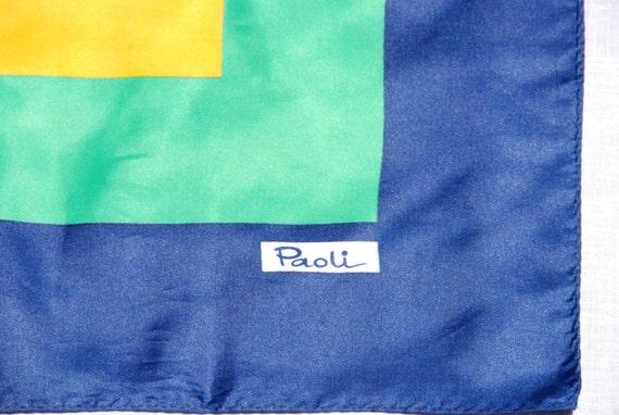 Vintage Paoli Scarf