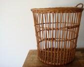 SALE - Vintage Woven Basket