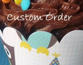 24- Cupcake Wrappers (Custom Order for Holly)