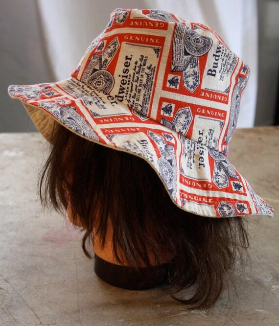 Budweiser bucket hat