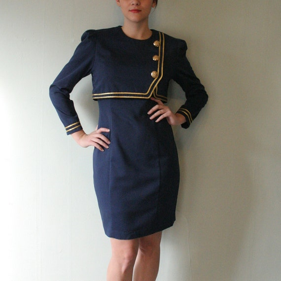 Vintage Marching Band Dress