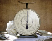 SALE - Vintage Green Postal Scale by Chatillon - Was 68.00 now 54.00