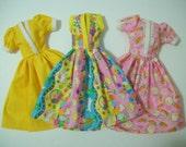 Color My World / Eastery Barbie Dress Set / Handmade Barbie Clothes