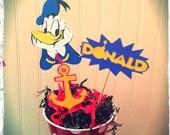 Donald Birthday Centerpiece