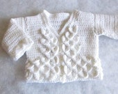Baby Sweater Pattern Crocodile Stitch
