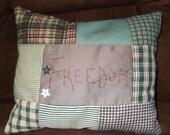 Handmade Americana Pillow