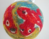 Needle Felted Christmas Ornament - Matisse