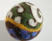 Needle Felted Art Ball- Matisse