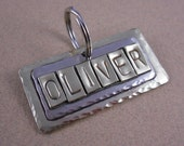 Pet Tag - Personalized Dog Tag - Sturdy Brass and Silver Mixed Metals Pet ID Tags