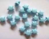 100 Origami Stars - Fresh Blue