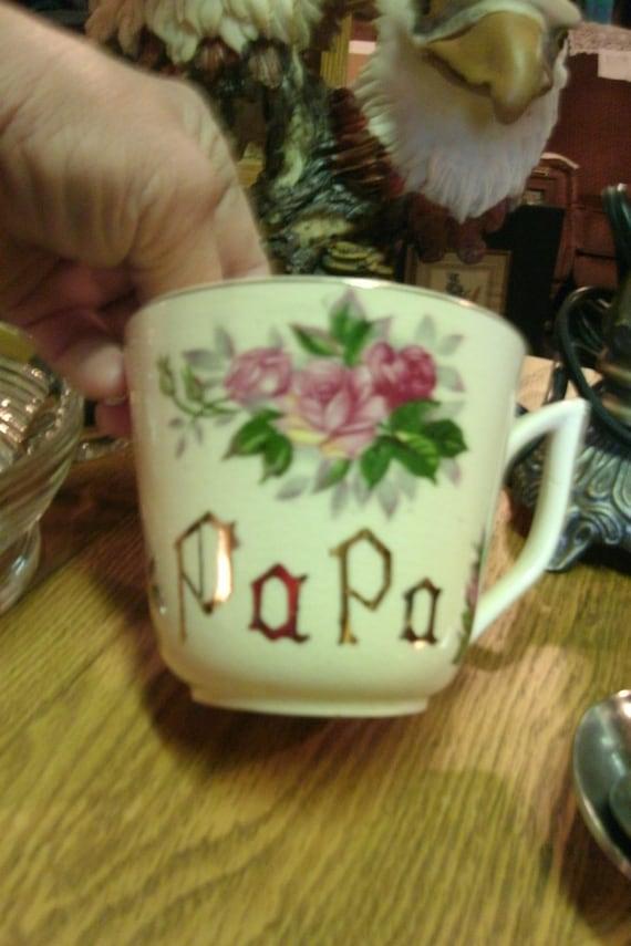 Vintage PAPA cup