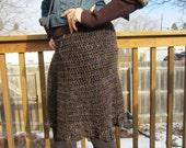 Skirt Chaser -- Multi - Browns and Blacks size M-L