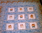 Twin Size Quilt A Tribute to Tasha - SALE price Reserved for Mary Theresa
