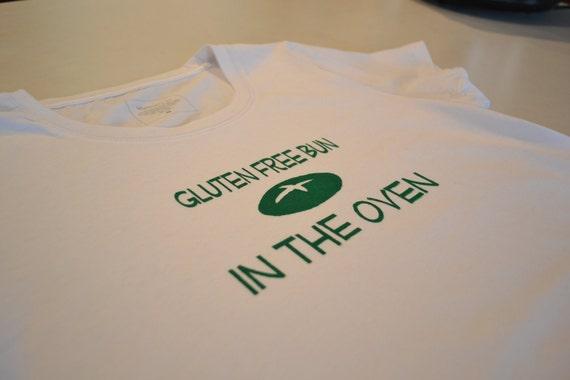 Maternity Tee - Gluten Free Bun in the Oven
