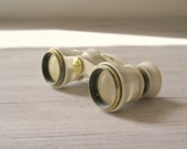 Vintage  Opera Binoculars with Original leather case made in USSR