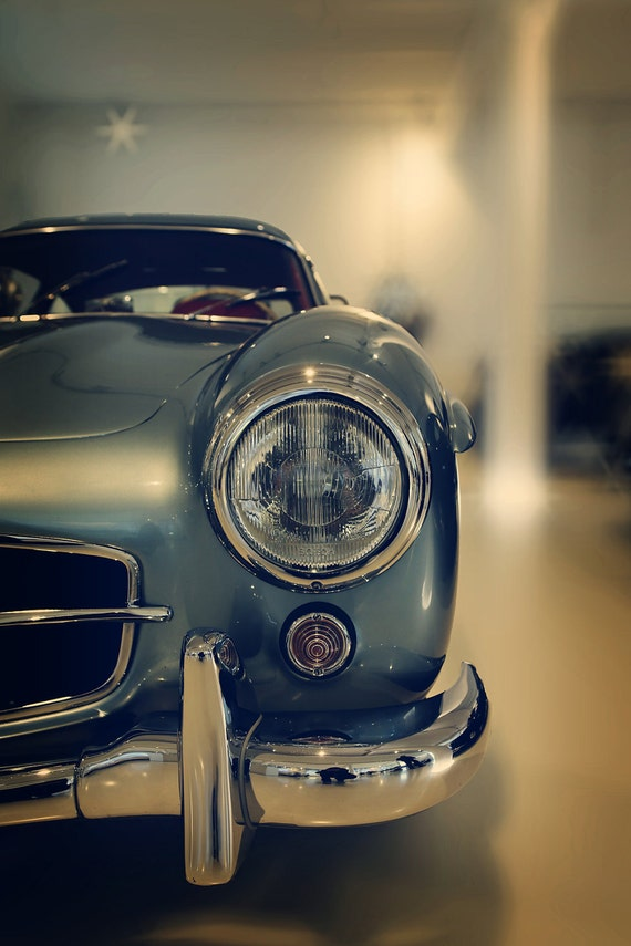 Items similar to car photography vintage mercedes benz for Mercedes benz gifts