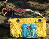 Upcycled Satchel Style Bag