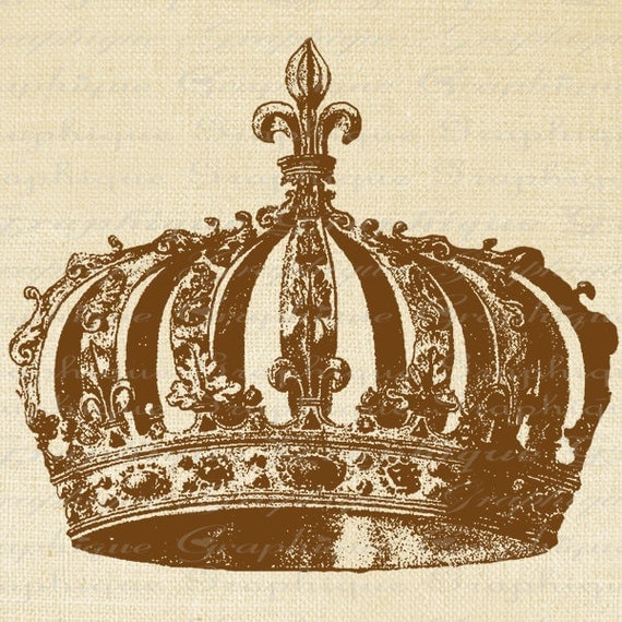 Items Similar To French Crown Royalty Year 1589 Fleur De